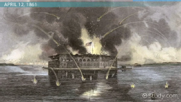 Battle at Fort Sumter: Summary, Facts & Map