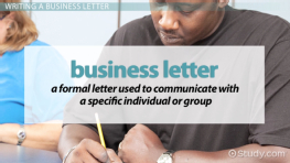 Components of a Business Letter