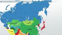 Major Landforms of Russia & Central Asia