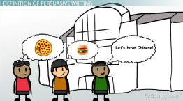 What is Persuasive Text? - Definition & Examples