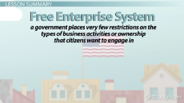 What is the Free Enterprise System? - Definition & Examples