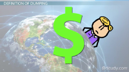 Dumping in Economics: Definition & Effects