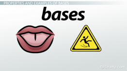 Base in Chemistry: Definition & Example