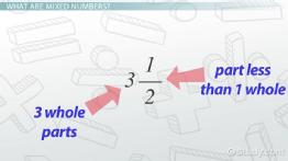 Mixed Numbers: How to Add, Subtract, Multiply & Divide