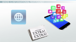 What is Informational Text? - Definition, Characteristics & Examples