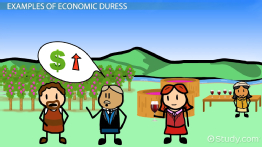 Economic Duress in Contract Law: Definition & Cases