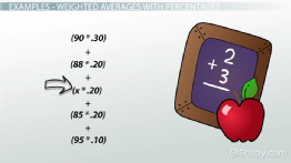 Calculating Weighted Average: Method, Formula & Example