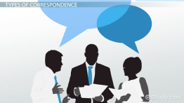 Comparing Types of Business Correspondence