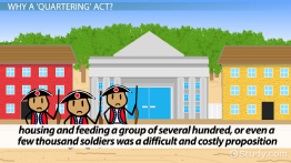 The Quartering Act of 1765: Definition, Summary & Facts