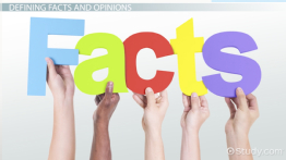 Facts vs. Opinions: Examples, Games & Activities