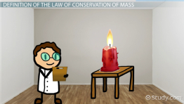 The Law of Conservation of Mass: Definition, Equation & Examples