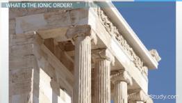 Greek Architecture ancient greek architecture: dorian, ionic & corinthian - video