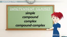 Independent Clause: Definition & Examples