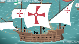 Virginia Company: Charter, Definition & History