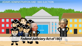 Judiciary Act of 1801: Definition & Summary