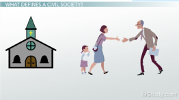 What is a Civil Society? - Definition & Examples