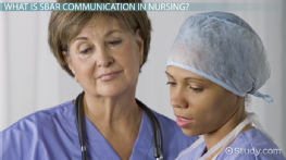 SBAR in Nursing Communication: Format & Examples