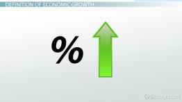 What is Economic Growth? - Definition, Theory & Impact