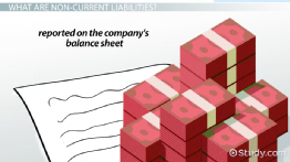 Non-Current Liabilities on a Balance Sheet: Definition & Examples