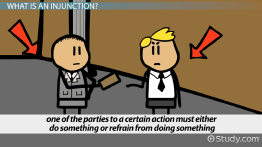 What is an Injunction? - Definition, Types, Process & Example