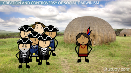 what did social darwinism discourage
