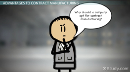 What Is Contract Manufacturing? - Definition & Explanation