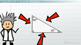 30-60-90 Triangle: Theorem, Properties & Formula