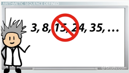 Arithmetic Sequence: Formula & Definition