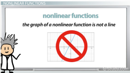 Nonlinear Function: Definition & Examples