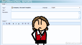 Types of Informal Reports