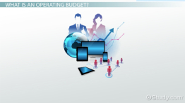 What Is Operating Budget? - Definition & Examples