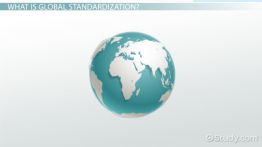Global Standardization in Marketing: Definition & Strategy
