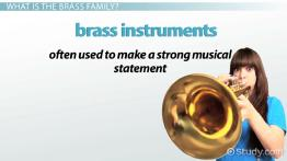 Brass Family: Instruments, History & Facts