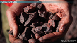 What is Ore? - Definition, Types, Uses & Examples
