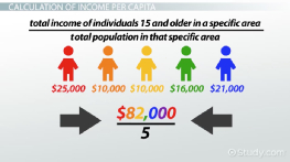 What is Per Capita Income? - Definition & Example