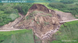 What is a Landslide? - Definition, Causes & Facts