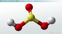 H2SO3: Definition & Lewis Structure