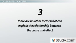 Cause and Effect Relationship: Definition & Examples
