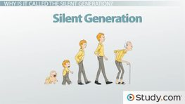 Generation Gap Definition Causes  Effects  Video  Lesson  The Silent Generation Definition Characteristics  Facts