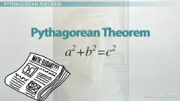 How to Find Shorter Sides on a Right Triangle Using the Pythagorean Theorem