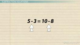 How to Balance Subtraction Equations