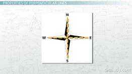 What are Perpendicular Lines? - Definition & Meaning