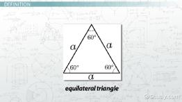 What is an Equilateral Triangle? - Definition, Properties & Formula