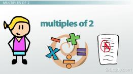How to Find, Say & Write Multiples of 2