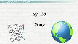 Solving Multiplication Equations with Two or More Variables