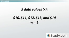 Identifying & Calculating Averages