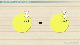 Congruence in Geometric Shapes