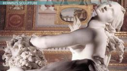 Bernini's Sculpture vs. Caravaggio's Paintings: Erotic Elements