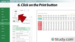 Printing in Excel: How to Configure Workbooks to Print