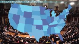 The Problem of Apportionment in Politics